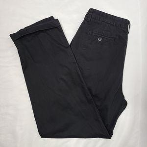 Chaps Black Khaki Slacks